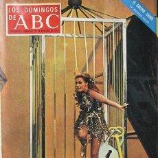 Cine: ANN MARGRET REVISTA LOS DOMINGOS DE ABC 20 DE FEBRERO DE 1972 NURIA ESPERT . Lote 26325011