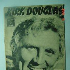 Cine: 543 KIRK DOUGLAS BIOGRAFIA REVISTA CINE CINEMA FILM AÑOS 1950 - MAS EN COSAS&CURIOSAS. Lote 6401226