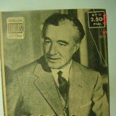 Cine: 546 VITTORIO DE SICA BIOGRAFIA REVISTA CINE CINEMA FILM AÑOS 1950 - MAS EN COSAS&CURIOSAS. Lote 9050087