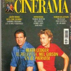 Cine: REVISTA DE CINE CINERAMA Nº 93 JULIO/AGOSTO DEL 2.000.. Lote 27420075