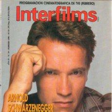 Cine: REVISTA DE CINE INTERFILMS Nº 29 - FEBRERO DE 1991 - ARNOLD SCHWARZENEGGER.. Lote 26544040
