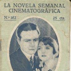 Cine: LA NOVELA SEMANAL CINEMATOGRAFICA - 1920 - Nº 162. Lote 10421979