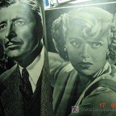 Cinéma: 1249 CAMARA REVISTA DE CINE AÑO 1944 - Nº 33 - MARY LAMAR - GARY COOPER - COSAS&CURIOSAS. Lote 12224845