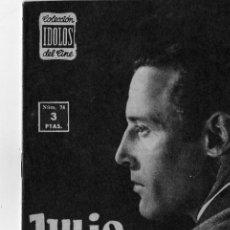 Cine: COLECCION IDOLOS DEL CINE Nº 74 JULIO PEÑA. Lote 5802266