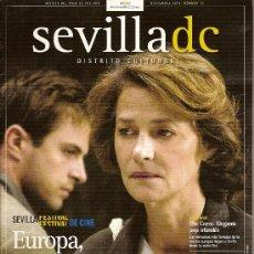 Cine: REVISTA 'SEVILLA DC', Nº 12. NOVIEMBRE 2004. FESTIVAL DE CINE EUROPEO DE SEVILLA 2004 EN PORTADA.. Lote 6038161