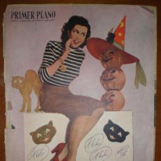 Cine: PRIMER PLANO Nº 478 (11/12/49) ANN MILLER. CASANOVA. BOYER. JANY HOLT. ESTHER WILLIAMS. PEQUEÑECES. Lote 6093492