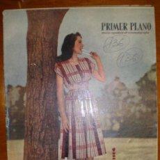 Cinéma: PRIMER PLANO Nº 445 DE 24/4/49. BEERY. GARBO. ANTONIO ROMAN. ITURBE.LOCKWOOD. LEIGH. JOHN CARROL. . Lote 6207548
