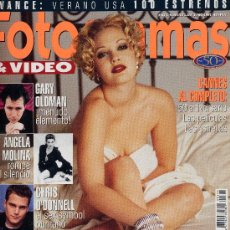 Cine: FOTOGRAMAS Nº1844 (JUNIO 1997) DREW BARRYMORE, ÁNGELA MOLINA, CHRIS O´DONNELL,CANNES.... Lote 256054195