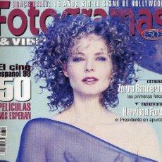 Cine: FOTOGRAMAS Nº 1847 (SEPTIEMBRE 1997) JODIE FOSTER, ANTONIO BANDERAS, HARRISON FORD.... Lote 17135273