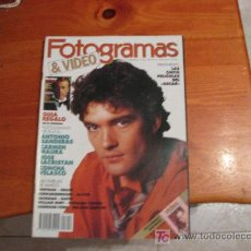 Cine: FOTOGRAMAS 1989 /// ANTONIO BANDERAS . Lote 11347154