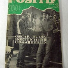 Cine: POSIFIF Nº 110 REVISTA FRANCESA DE CINE NOV 1969. Lote 6951076