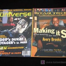 Cine: STAR TREK VOYAGER-SCI FI UNIVERSE NUMERO ESPECIAL-1998-STAR TREK COMMUNICATOR AFRICAN-AMERICANS . Lote 8549985
