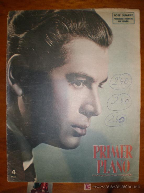 PRIMER PLANO Nº 598 (30/3/52) ALMAS PELIGRO CARMEN SEVILLA ANTONIO JOSE SUAREZ TAYLOR IVANHOE (Cine - Revistas - Primer plano)