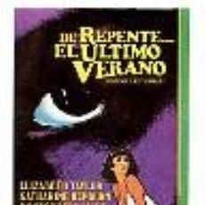 Cine: DE REPENTE...EL ULTIMO VERANO. POR ELIZABETH TAYLOR.. Lote 277302058
