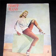 Cine: JANET LEIGH EN PORTADA-REVISTA COMPLETA PRIMER PLANO ABRIL 1956-GRACE KELLY-PAQUITA RICO-CARY GRANT. Lote 9615514