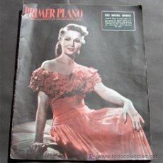 Cine: VIRGINIA MAYO EN PORTADA-REVISTA COMPLETA PRIMER PLANO JULIO 1955-MARLON BRANDO-CLARK GABLE. Lote 9718352