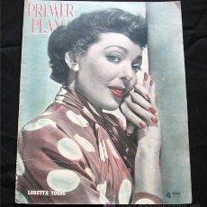 Cine: LORETTA YOUNG EN PORTADA-REVISTA COMPLETA PRIMER PLANO JUNIO 1951-LOUIS JOURDAN-MARIO LANZA. Lote 9603880