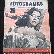 Cine: CYD CHARISE PORTADA-REVISTA COMPLETA FOTOGRAMAS OCTUBRE 1953-AUDREY HEPBURN. Lote 9603909