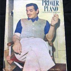 Cine: CLARK GABLE PORTADA-REVISTA COMPLETA PRIMER PLANO JUNIO 1947-BING CORSBY-INGRID BERGMAN. Lote 9603910