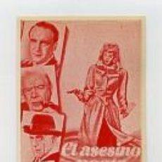Cine: EL ASESINO POETA, POR BORIS KARLOFF.. Lote 142929206