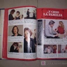 Cinema: FOTONOVELA COMPLETA. ...Y CREO LA FAMILIA. ENCUADERNADA EN TOMO.. Lote 18395749