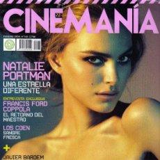 Cine: 'CINEMANÍA', Nº 149. FEBRERO 2008. NATALIE PORTMAN EN PORTADA.. Lote 20157311