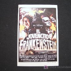Cine: FOLLETO DE MANO DEL JOVENCITO FRANKENSTEIN. GRAFICAS MARFIL 1983. Lote 24336293