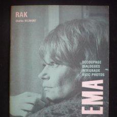 Cine: CAHIERS DU CINEMA. RAK. CHARLES BELMONT. . Lote 11906740