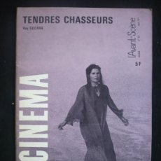 Cine: CAHIERS DU CINEMA. TENDRES CHASSEURS, RUY GUERRA.. Lote 13009726