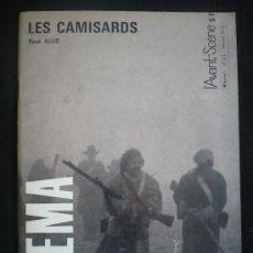 Cine: CAHIERS DU CINEMA. LES CAMISARDS, RENE ALLIO . Lote 14027447