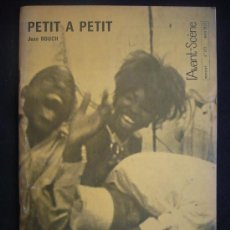 Cine: CAHIERS DU CINEMA. PETIT A PETIT. JEAN ROUCH.. Lote 12802637