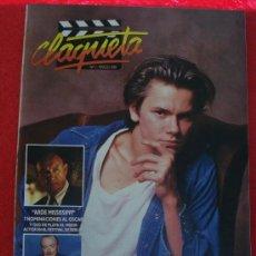 Cine: REVISTA CLAQUETA Nº 1 MARZO 1989. Lote 27205304