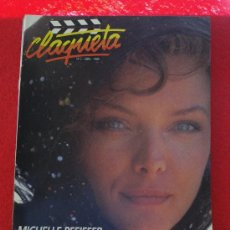 Cinema: REVISTA CLAQUETA Nº 2 ABRIL 1989. Lote 26290473