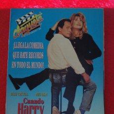 Cine: REVISTA CLAQUETA Nº 10 FEBRERO 1990. Lote 26377993
