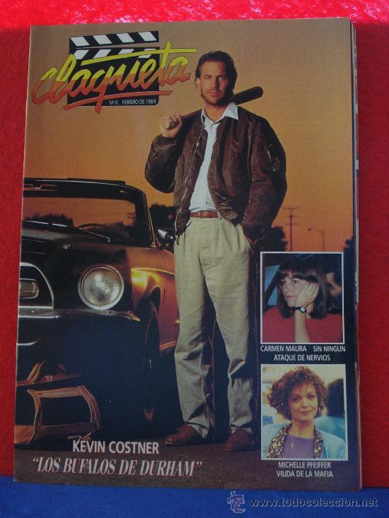 REVISTA CLAQUETA Nº 0 FEBRERO 1989 (Cine - Revistas - Claqueta)