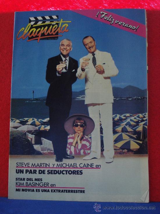 REVISTA CLAQUETA Nº 5 JULIO AGOSTO 1989 (Cine - Revistas - Claqueta)