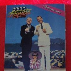 Cine: REVISTA CLAQUETA Nº 5 JULIO AGOSTO 1989. Lote 27301325