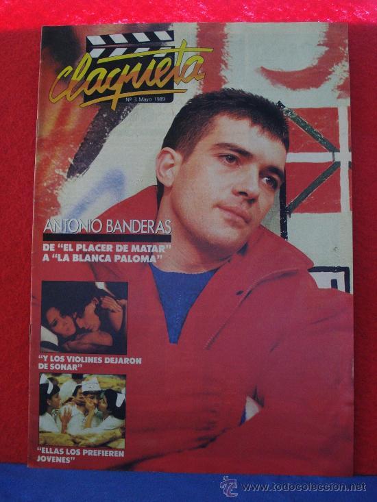REVISTA CLAQUETA Nº 3 MAYO 1989 (Cine - Revistas - Claqueta)
