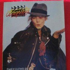 Cinema: REVISTA CLAQUETA Nº 7 OCTUBRE 1989. Lote 27346618