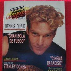Cine: REVISTA CLAQUETA Nº 8 NOVIEMBRE DICIEMBRE 1989. Lote 26441923
