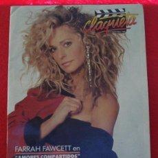 Cine: REVISTA CLAQUETA Nº 6 SEPTIEMBRE 1989. Lote 26441933