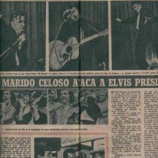 Cine: REVSITA FOTOGRAMAS. CINE. AÑO 1956. ATAQUE A ELVIS PRESLEY. ROCK HUDSON. DEWEY MARTIN. . Lote 8078424
