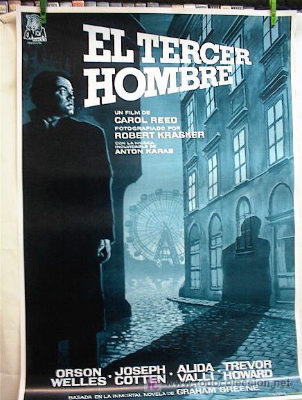 EL TERCER HOMBRE (Cine - Reproducciones de carteles, folletos...)