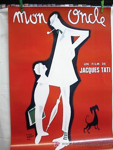 MI TIO (Cine - Reproducciones de carteles, folletos...)