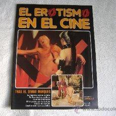 Cine: EL EROTISMO EN EL CINE, FASCÍCULO Nº 16. Lote 8486319
