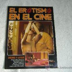 Cine: EL EROTISMO EN EL CINE, FASCÍCULO Nº 17. Lote 8486473