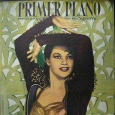Cine: PRIMER PLANO - IVONNE DE CARLO 1947 - Nº 350 CON DANA ANDREWS, GUY MADISON, MICHELLE MORGAN. Lote 8994856