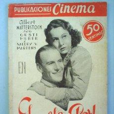 Cine: EL DOBLE DEL REY-PUBLICACIONES CINEMA . Lote 10043057