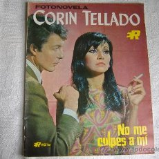 Cine: FOTONOVELA CORIN TELLADO Nº 56, NO ME CULPES A MI, AÑO 1968-69. Lote 27298179