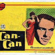 Cine: COLECCIÓN IDILIO Nº 18 AÑO 1961, PELÍCULA CAN-CAN CON FRANK SINATRA Y SHIRLEY MAC LAINE. Lote 26417775